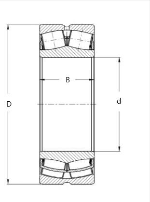 ZKL 23224 CW33J soudečkové ložisko - N2
