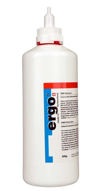 Ergo 5400 - 500 g vteřinové lepidlo na plasty - N2