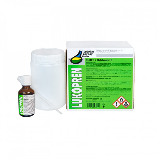 Lukopren N 6681 - 1 kg + katalyzátor - N2
