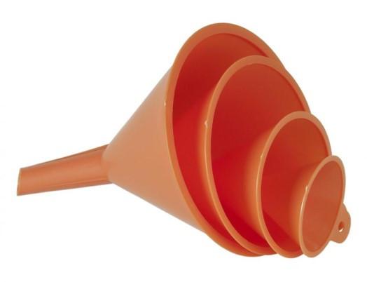 Trychtýř plastový sada 4 ks (D 50,75,100,120) - N2