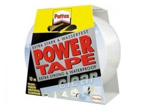 Pattex Power Tape - 10 m transpatentní - N2