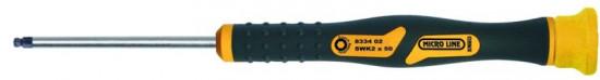 Šroubovák šestihranný s kulovou hlavou micro, 8334, 03 / SWK 2,5 - N2