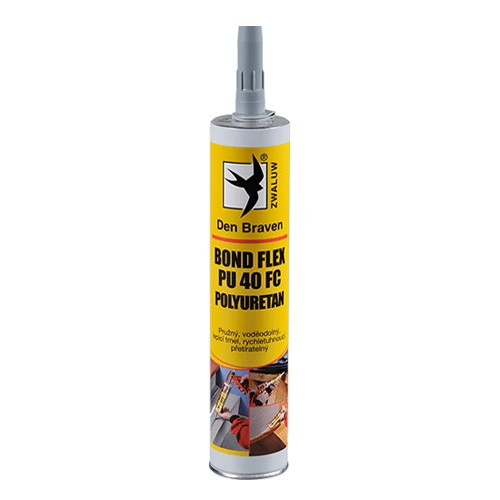 Den Braven Bond Flex PU 40 FC polyuretan - 300 ml bílá, kartuše _31421BD - N2