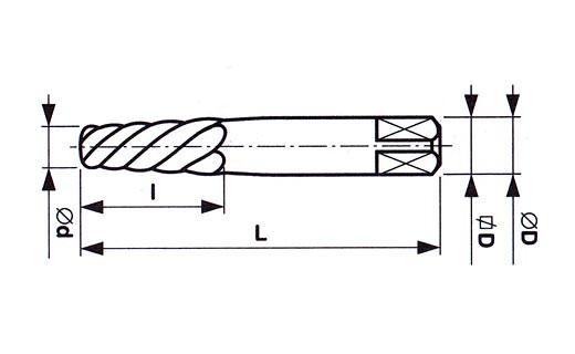 Vytahovač šroubů HCS, 231680, 2 (M5-M7) - N2