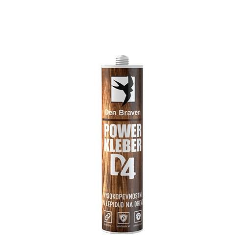 Den Braven POWER KLEBER (PU lepidlo) D4 - 300 ml krémová, kartuše _00432RL - N2