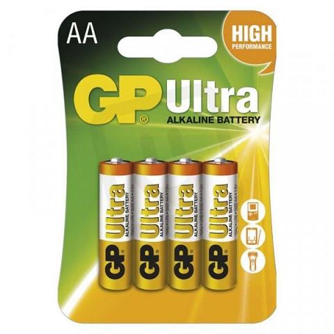 Baterie alkalická GP Ultra LR6 AA 4ks 880-AA - N2