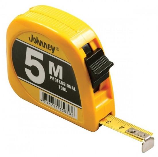 Metr svinovací 5m KDS 5013 Johnney žlutý - N2