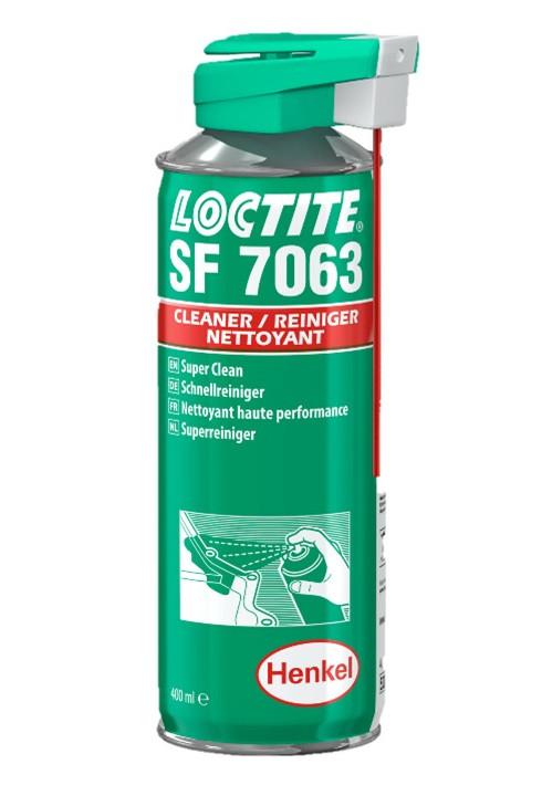 Loctite SF 7063 - 400 ml rychlo-čistič a odmašťovač - N2