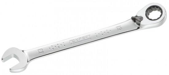 Klíč očkoplochý ráčnový 19 - Tona Expert - N2