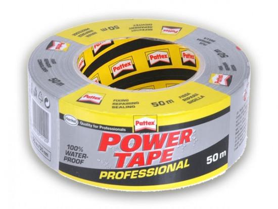 Pattex Power Tape stříbrná - 50 m - N2