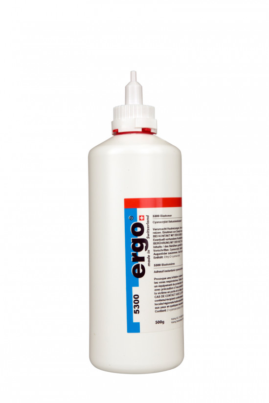 Ergo 5300 - 500 g vteřinové lepidlo na elastomery - N2