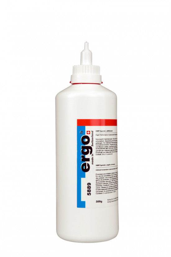 Ergo 5889 - 500 g vteřinové lepidlo speciální - N2