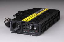 Měnič napětí UPS600 z 12V DC na 230V AC 600W+nabíječ+UPS - N1