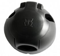 Zásuvka 12V 7P plast JAEGER - N1