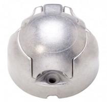 Zásuvka 12V 7P kovová JAEGER - N1
