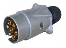 Zástrčka 12V 7P kovová JAEGER - N1