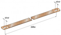 Pás uzemňovací 250x15 mm - N1