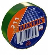 Páska izolační PVC 0,13x15x10-zelená - N1