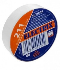 Páska izolační PVC 0,13x15x10-bílá