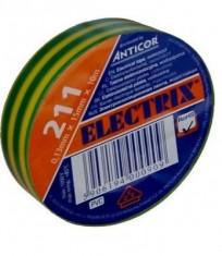 Páska izolační PVC 0,13x15x10-žlutozelená - N1