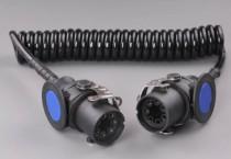 Kabel spirála 24V 4m 2x5P ABS - N1