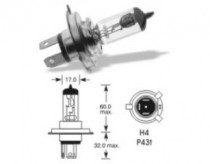 Žárovka Elta 12V H4 P43t-38 - N1