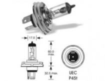 Žárovka Elta 12V H4 asymetrická P45t-41