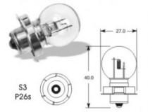Žárovka Autolamp 6V 15W P26s Babetta
