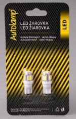 Žárovka LED 24V 5W W2,1x9,5d čirá sada 2ks - N1