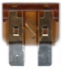 Pojistka nožová 7,5A - N1