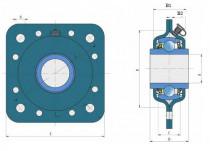 Ložisková jednotka GWST 211PPB15 FKL ( LS 211 )
