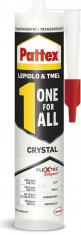 Pattex ONE For All CRYSTAL - 290 g kartuše - N1