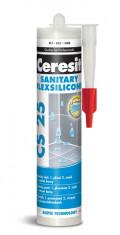 Ceresit CS 25 - 280 ml silikon sanitár platinum - N1