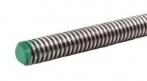 Závitová tyč trapézová DIN 103 Tr12x3x1000 A2 (nerez 1.4301) - N1