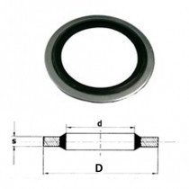 Těsnící kroužek USIT US NBR 6,99x13,34x1,22