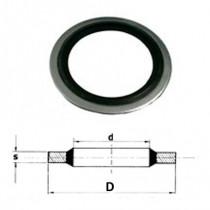 Těsnící kroužek USIT US NBR 7,3x10,2x1