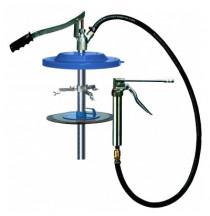 Mazací lis pákový, nádrž 25 kg, membrána 310 - 335 mm, hadice 530 mm