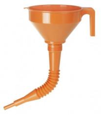 Trychtýř plastový pr.160 délka trubice 330 mm - průměr výstupu 19 mm - N1