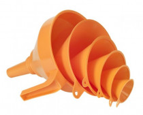 Trychtýř plastový sada 6 ks - (D 50,75,100,120,150,160) - N1