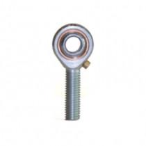 Kloubová hlavice, vnější pravý závit, ocel/bronz SABP 6 S  LS