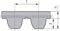Ozubený řemen 14MGT 1890 68 Gates Polychain GT2 - N1
