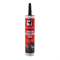Den Braven Střešní bitumenový tmel - 310 ml černá, kartuše _10205RL - N1