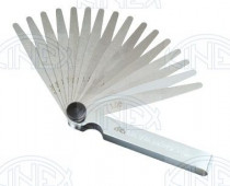 Listové spároměrky, 251670, DIN1544 F, 0,05÷1,0/100 mm /1131/ - N1