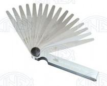 Listové spároměrky, 251670, DIN1544 F, 0,02÷0,2/100 mm /1130/ - N1