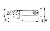 Vytahovač šroubů HCS, 231680, 2 (M5-M7) - N1