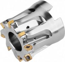 Čelní nástrčná fréza pozitivní, PRAMET, 40A08R-S90SO05O-C