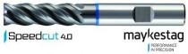 Fréza SK dlouhá - SPEEDCUT 4.0 Inox, Z=4, ULTRADUR, MAYKESTAG, 8777010001 - 10x30/80 - N1