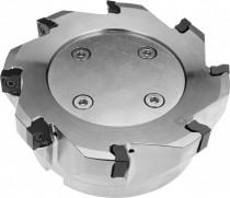 Čelní nástrčná fréza pozitivní, PRAMET, 160C08R-S90LN16-C