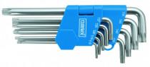 Sada zástrčných klíčů šestihr. prodloužených, 9dílná, 230711.609-NAREX, SADA TORX (T10-T50) - N1