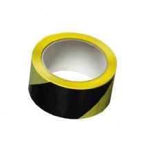 Den Braven Lepicí páska výstražná - 66 m x 50 mmčerno-žlutá, pravá _B714RL